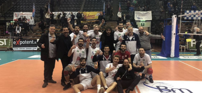 Volley Catania - Vittoria a Bolzano