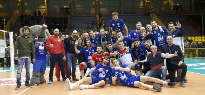 Volley Catania - Vittoria contro Taviano