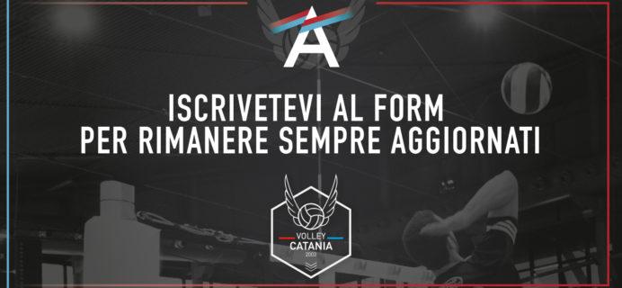 Volley Catania - Iscrizione al form