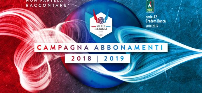 Volley Catania - Campagna abbonamenti