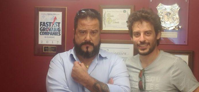 Claudio Luca e Natale Aiello