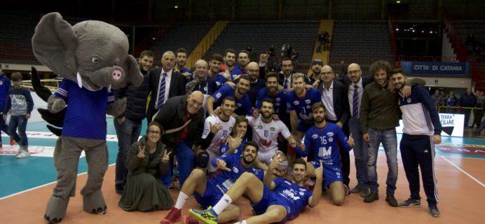 Messaggerie Bacco Catania - Vittoria contro Emma Villas Siena
