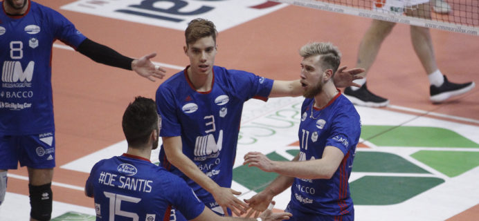 Volley Catania - Contro Emma Villas