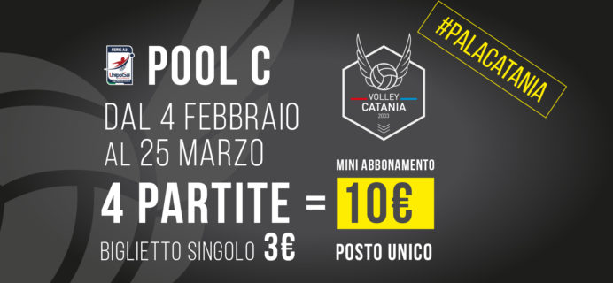 Volley Catania - Miniabbonamento Pool C