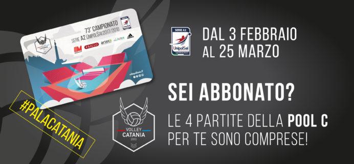 Volley Catania - Abbonamento compreso