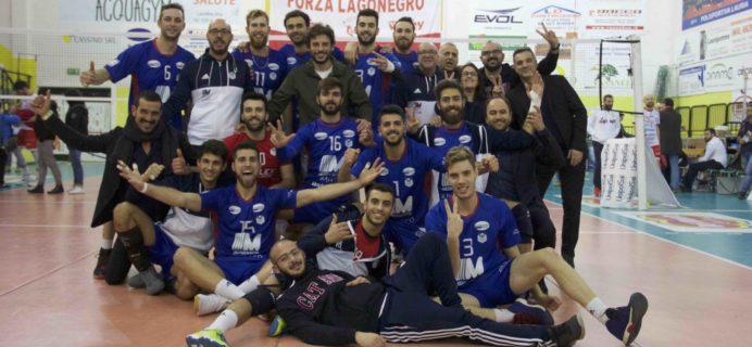 Volley Catania - Vittoria a Lagonegro