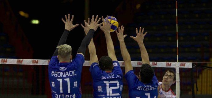 Volley Catania - Partita contro Mosca Bruno Bolzano