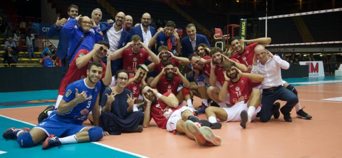 Volley Catania - Vittoria 3-1 su Cuneo
