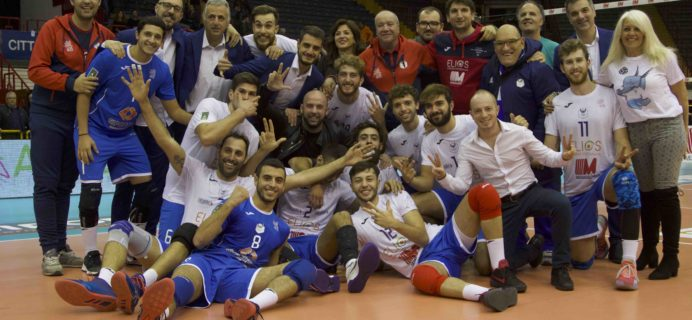 Volley Catania - Vittoria contro Tipiesse Cisano Bergamasco