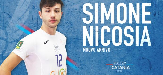Volley Catania - Nuovo arrivo Simone Nicosia