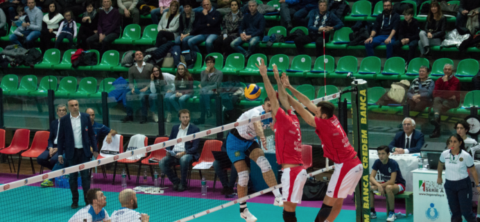 Volley Catania - Porcello e Gradi a muro