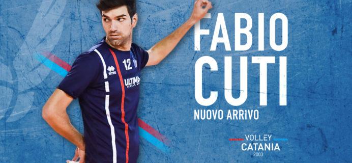 Volley Catania - Nuovo innesto Fabio Cuti